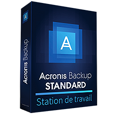 Acronis Backup Standard Station de travail