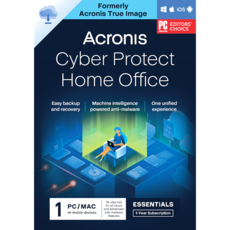 Acronis Cyber Protect Home Office Essentials - Abonnement