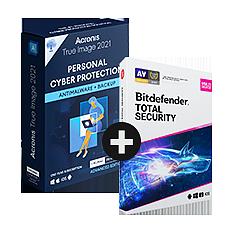 Pack Acronis True Image Advanced + Bitdefender Total Security
