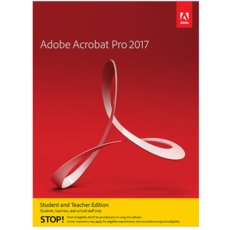 Acrobat Pro 2017 - Education - Windows