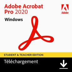 Acrobat Pro 2020 - Etudiant/Professeur