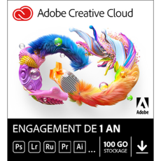 Adobe Creative Cloud all Apps - Particuliers