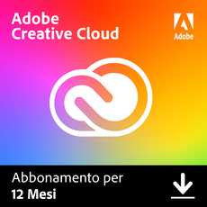 Adobe Creative Cloud - Tutte le applicazioni - Singoli utenti