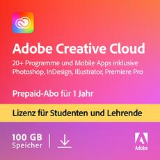 Adobe Creative Cloud - Alle Apps - Studenten und Lehrende