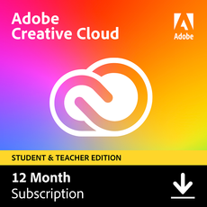 Adobe Creative Cloud - Alle apps - Studenten en docenten