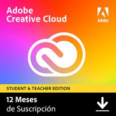 Adobe Creative Cloud - Todas las aplicaciones - Estudiantes y profesores