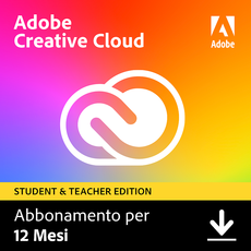 Adobe Creative Cloud - Tutte le applicazioni - Studenti e docenti