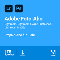 Creative Cloud Foto-Abo - 1 TB