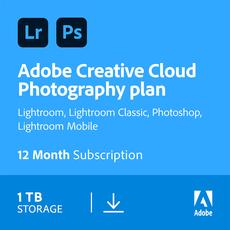 Creative Cloud Fotografielidmaatschap - 1 To