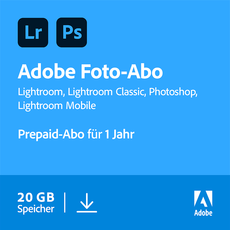 Creative Cloud Foto-Abo - 20 GB