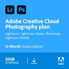 Adobe Creative Cloud Photography plan - 20 GB