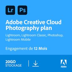 Adobe Creative Cloud Photographie - 20 Go