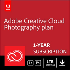 Creative Cloud Fotografielidmaatschap - 1 To