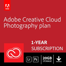 Adobe Creative Cloud Photography plan - 20 GB