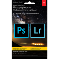 Adobe Creative Cloud Photographie - Education - 20 Go