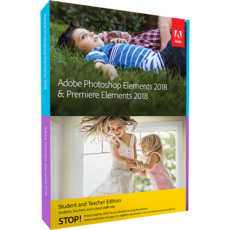 ADOBE Photoshop Elements 2018 & Premiere Elements 2018 - Education