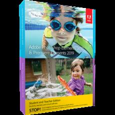 ADOBE Photoshop Elements 2019 & Premiere Elements 2019 - Education