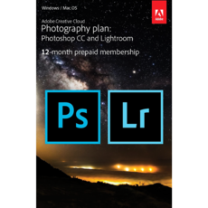 Adobe Creative Cloud pour la Photo