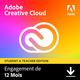 Visuel Adobe Creative Cloud all Apps - Education