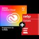 Visuel Pack Adobe Creative Cloud All Apps + EBP Comptabilité ACTIV + Contrat de mise à jour