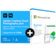 Visuel Pack Adobe Creative Cloud Photo 1 To + Microsoft 365 Business Standard