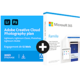 Visuel Pack Adobe Creative Cloud Photo 20 Go + Microsoft 365 Famille