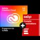Visuel Pack Adobe Creative Cloud All Apps + EBP Compta Association PRO