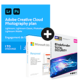 Visuel Pack Adobe Creative Cloud Photographie - 1 To + Microsoft 365 Personnel + Bitdefender Total Security