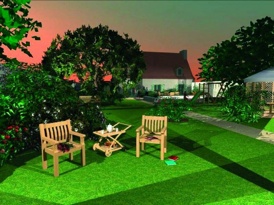 Maison et jardin 3d 2009 acheter et t l charger sur for Jardin 3d mac