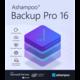 Visuel Ashampoo Backup Pro 16