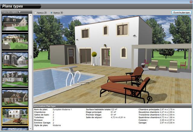 architecte 3d platinium acheter et t l charger sur. Black Bedroom Furniture Sets. Home Design Ideas