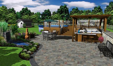 Architecte 3d jardin et ext rieur mac acheter et for Architecte exterieur jardin