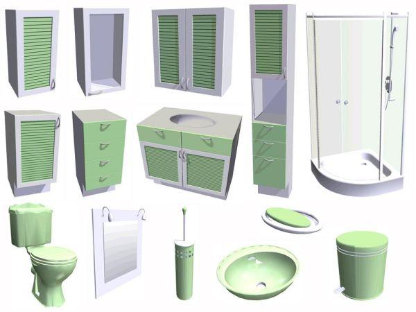 Cuisine et salle de bain 3D - Acheter et télécharger sur ...