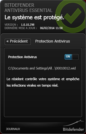 bitdefender antivirus essential 2015 acheter et t l charger sur. Black Bedroom Furniture Sets. Home Design Ideas