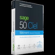 SAGE 50C Ciel Batiment Devis-Factures