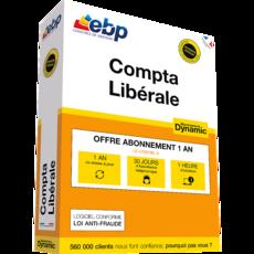 EBP Compta Libérale DYNAMIC - Abonnement 12 mois