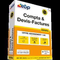 EBP Compta & Devis-Factures DYNAMIC 12 mois + VIP 2018