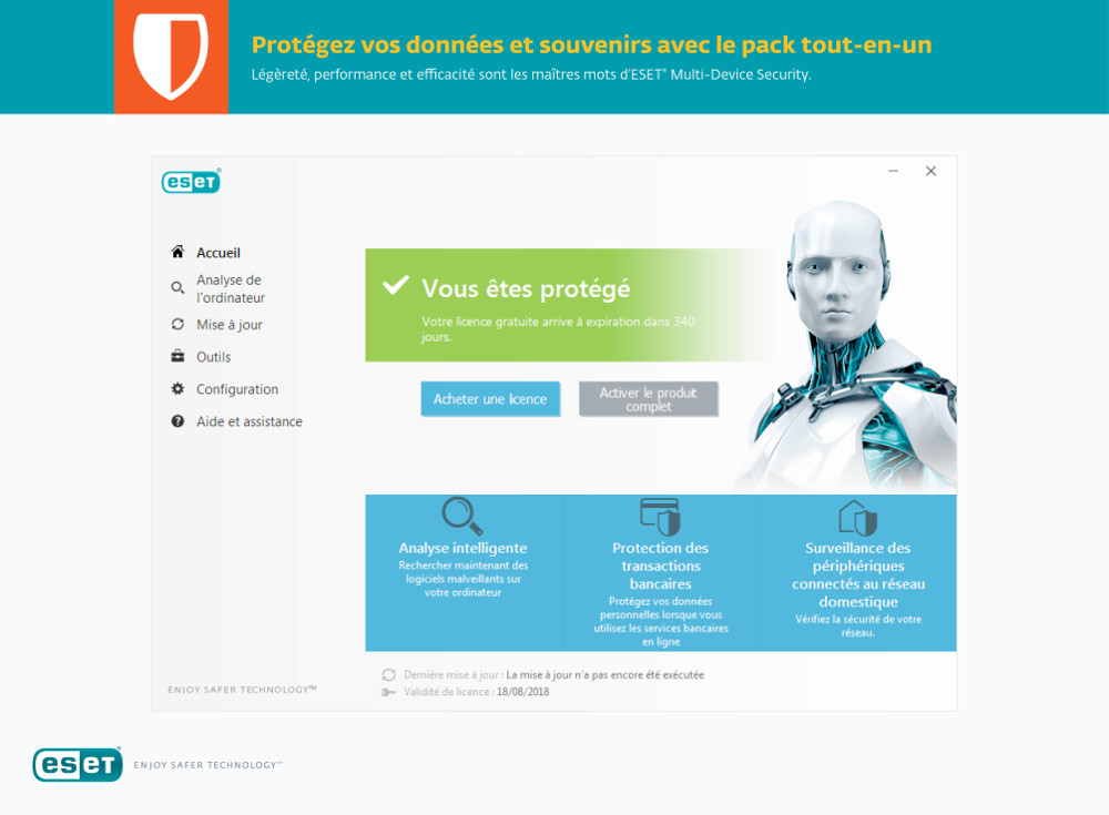 Eset Multi Device Security Pack 2019 Acheter Et
