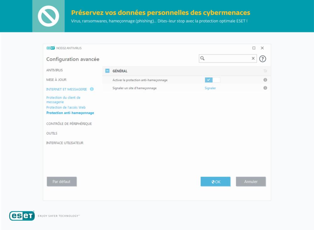 Eset Nod32 Antivirus 2019 Edition Multiposte Acheter