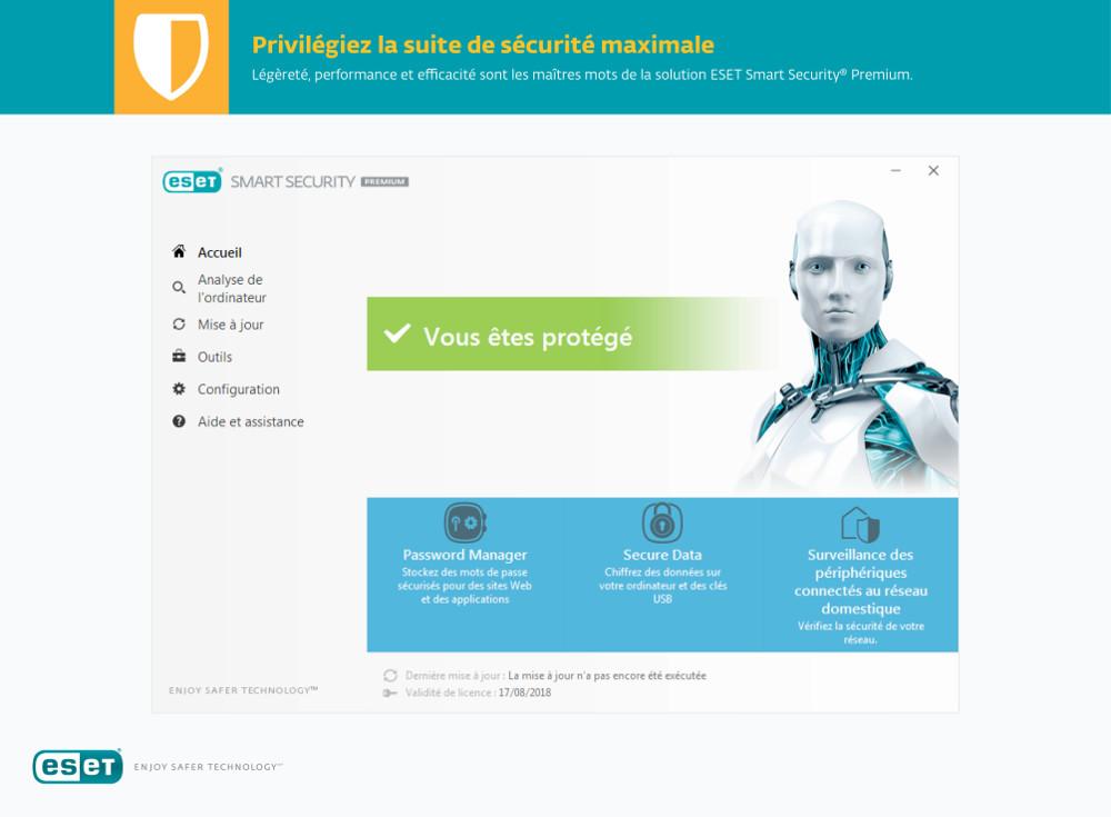 Eset Smart Security Premium 2019 Acheter Et T 233 L 233 Charger