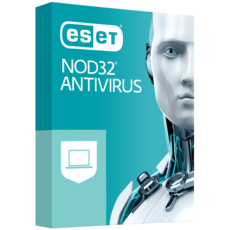 ESET NOD32 Antivirus 2020 - 1 poste - Abonnement 1 an