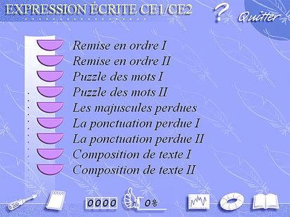Soutien Scolaire Expression Ecrite Ce1 Ce2