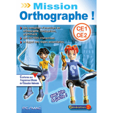 Mission Orthographe CE1 - CE2