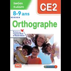 Soutien scolaire - Orthographe CE2