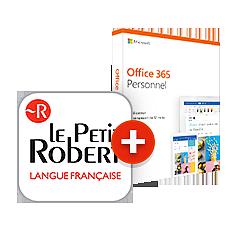 Le Petit Robert de la langue française + Office 365 Personnel