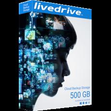 Livedrive Cloud Backup - 500 Go