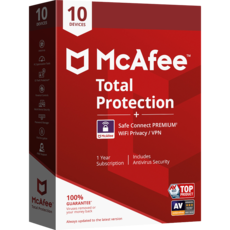 McAfee Total Protection + Safe Connect