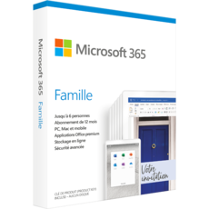 Microsoft 365 Famille (Anciennement Office 365 Famille)
