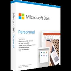 Office 365 Personnel - 1 PC/Mac - Abonnement 1 an - 39.99€ TTC au lieu de 69€ TTC