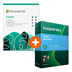 Microsoft 365 Family + Kaspersky Total Security